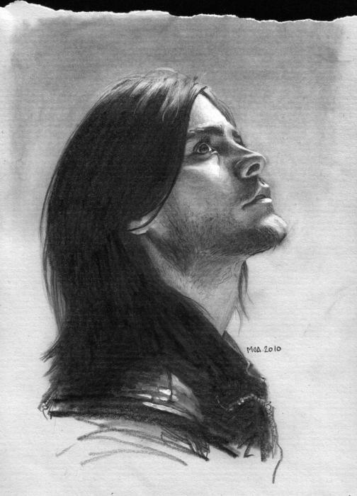 Jared Leto by Ihni